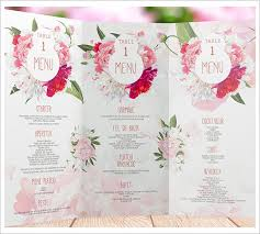 wedding menu templates wedding menu templates sle templates bcwjnsgg 21gowedding