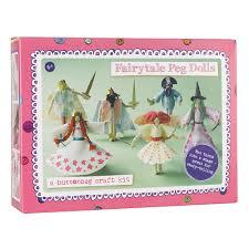 buttonbag fairytale peg doll craft kit gifts for girls cuckooland
