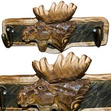 animal wood animal wood key hooks moose