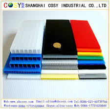 top quality pp corrugated plastic board 4mm thick cardboard sheets