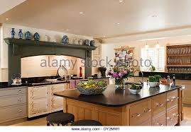 oak kitchen island units interiors kitchen island unit stock photos interiors kitchen