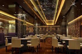 small restaurant european contempoary decor 3d restaurant design