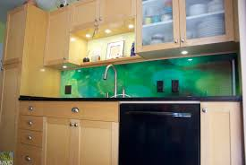 Colored Glass Backsplash Kitchen Glass Tile Backsplash Ideas Kitchen Ideas Surripui Net