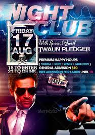 nightclub flyers templates premier free nightclub flyer template