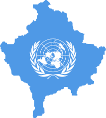 Picture Of Un Flag File Flag Map Of Kosovo United Nations Png Wikimedia Commons