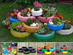 Ideas For Gardening Tire Garden Ideas 1000 Ideas About Tire Garden On Pinterest Tyre