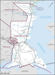 Moncton Canada Map by