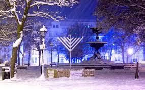 outdoor hanukkah menorah what to expect at a menorah lighting chanukah