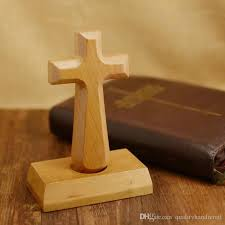 christian gift stores new solid wood cross christian gift handheld dual crafts gift bag