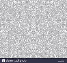islamic ornament grey vector background stock vector