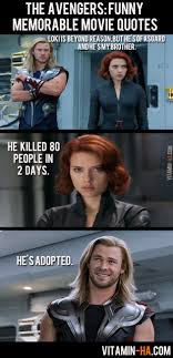 Funny Quote Memes - the avengers movie funny memorable quotes 7 pics