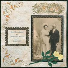 Wedding Scrapbook Page Old Fashioned Wedding Scrapbook Page Ideas