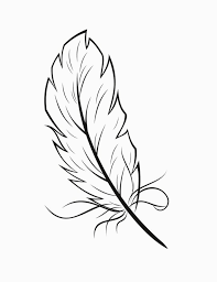 coloring pages of indian feathers feather coloring sheet coloring pages pinterest feathers