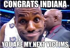 Pacers Meme - miami heat vs indiana pacers nba finals meme duels