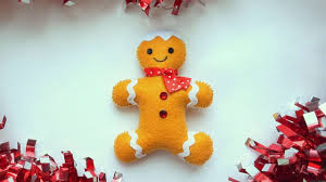 how to make a felt gingerbread man diy crafts tutorial