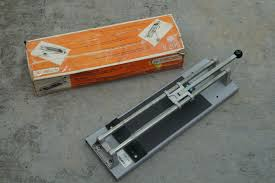 tomecanic tile cutter scorer 567s made in france very good