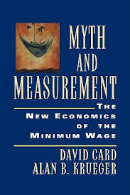 Barnes And Noble Minimum Wage Myth And Measurement The New Economics Of The Minimum Wage By