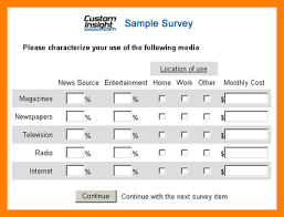 6 examples of survey questions lease template