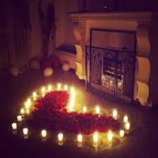 sorprese con candele idee romantiche per san valentino