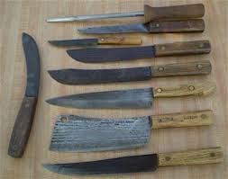 antique kitchen knives vintage hickory knives home