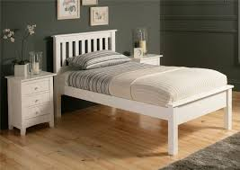 Platform Bed White Bedroom Contemporary Bedroom Dark Wood Platform Bed White Wooden
