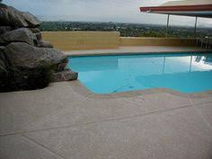 cool concrete pool decking kool deck sundek spray deck cool deck