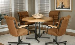 Kitchen Chairs With Rollers by The Most Popular Types Kitchen Chairs With Wheels