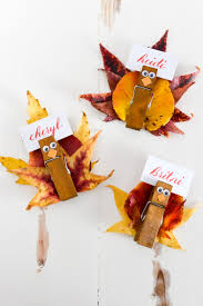 thanksgiving turkey card easy turkey place card holders hey let u0027s make stuff
