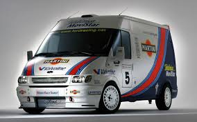 racing ford transit van on racing images tractor service and