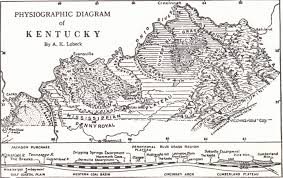 Ohio Kentucky Map by Geology Of Kentucky Introduction