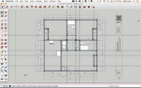 Symbol For Window In Floor Plan by Draw A Floor Plan In Sketchup From A Pdf Tutorial