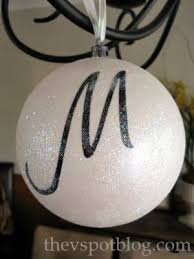title world s easiest monogrammed ornament title sew woodsy