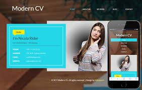 resume website template ceevee template 23 free personal vcard