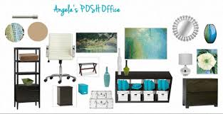 angela u0027s office design board the posh space