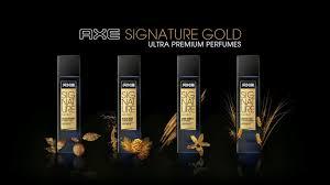 Minyak Axe axe signature gold