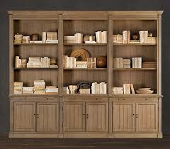 Weathered Bookcase Bookcases For A Home Office Traditional White Vs Industrial