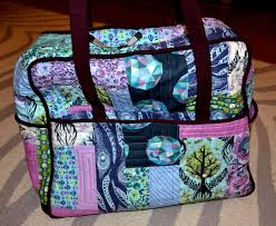 Amy Butler Home Decor Fabric Sew E T Amy Butler Weekender Bag Finished