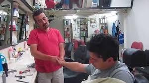 turkish barber head massage kuafor ercan youtube