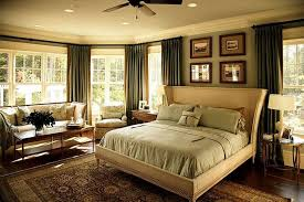 Curtains For Master Bedroom Master Bedroom With Sitting Area And Green Curtains The Best