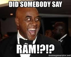 Ainsley Harriott Memes - did somebody say ram excited ainsley harriott meme generator