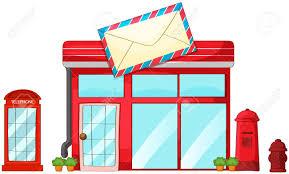 numero bureau de poste illustration de un bureau de poste boîte aux lettres téléphone sur