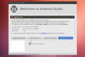 mobile development how to install android studio on ubuntu