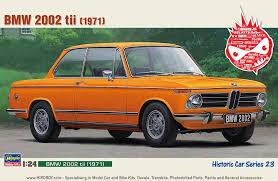 bmw 2002 model car 1 24 bmw 2002 tii has hc 23 hasegawa