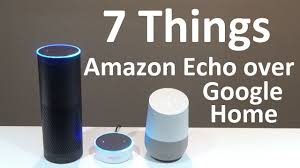 7 things amazon echo can do but google home can u0027t youtube