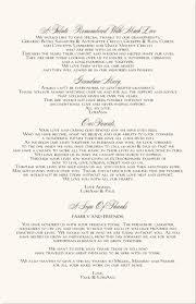 Wedding Programs Samples Wedding Programs Wording Thank You Finding Wedding Ideas