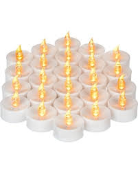 shopping sales on mars battery operated candles 24