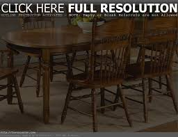 Dining Room Table Seats 8 Chair Round Oak Dining Table Seats 8 Solid And 6 Leather Chairs Pc