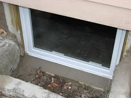 how to replace a basement window in concrete decorating idea