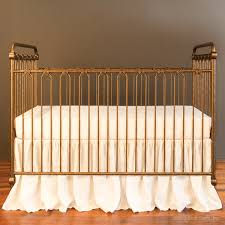 Bratt Decor Crib Joy Baby Crib Vintage Gold