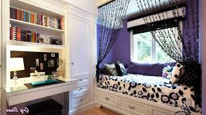 Small Teen Room Small Bedroom Ideas For Young Women Twin Bed Black Sofa Red
